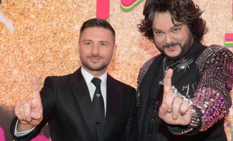 Журналисты на Евровидении подумали, что Лазарев и Киркоров - влюбленная пара