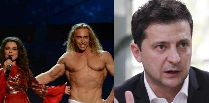 Тарзан рассказал, что ревнует Королеву к президенту Украины